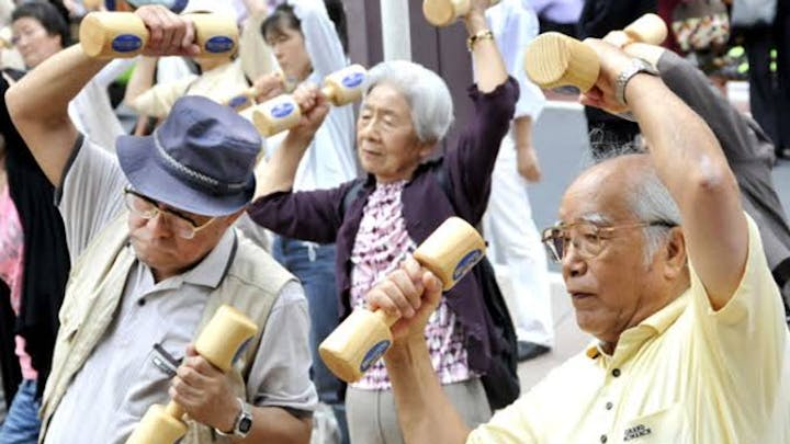 Nearly 1 in 1,500 people in Japan is now aged 100 years or above, according to new data from the Japanese Government.