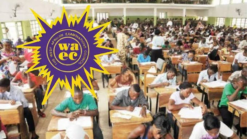 Students sitting for the West African Senior School Certificate Examination (WASSCE)