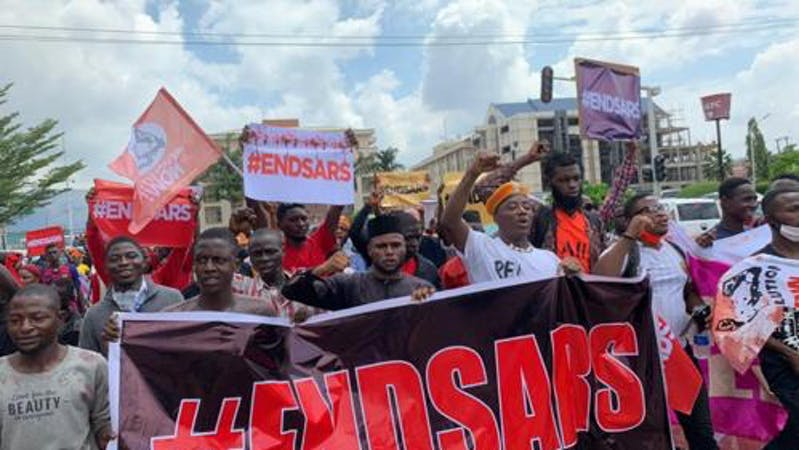 Six End SARS protesters who were detained in Lagos  released