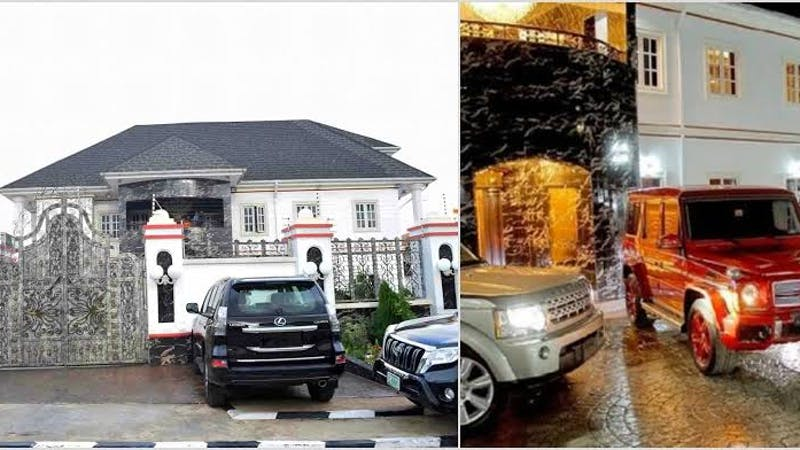 E-Money's mansion is one of the most expensive houses in Nigeria