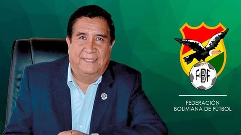 President of the Bolivian Football Federation, Cesar Salinas reported dead