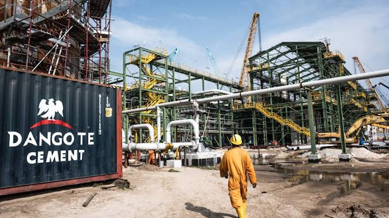 Dangote oil refinery and petrochemical firm trains and employs youths of Ibeju-Lekki area of Lagos state