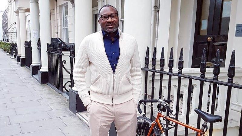 Nigerian Business Tycoon and entrepreneur Femi Otedola.