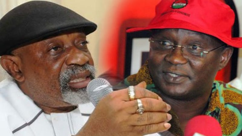 Minister of Labour and Employment, Chris Ngige meets with NLC and TUC to resolve issues surrounding impending strike action