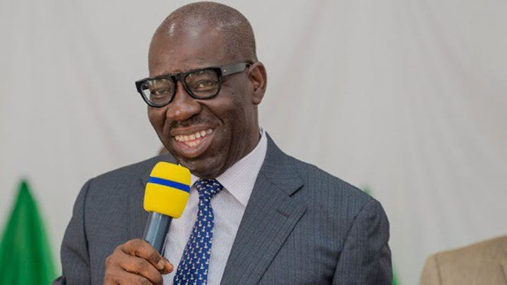 New Edo state's governor Godwin Obaseki has been congratulated by president Muhammadu Buhari and some governors on winning of 2020 governorship election