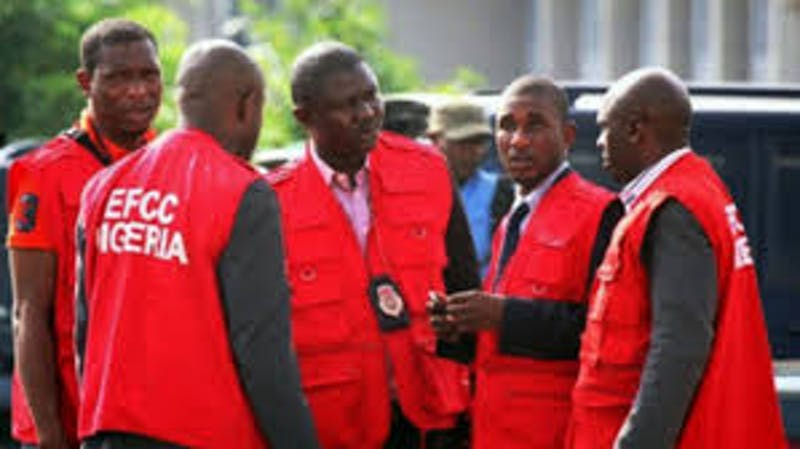 EFCC officials on duty