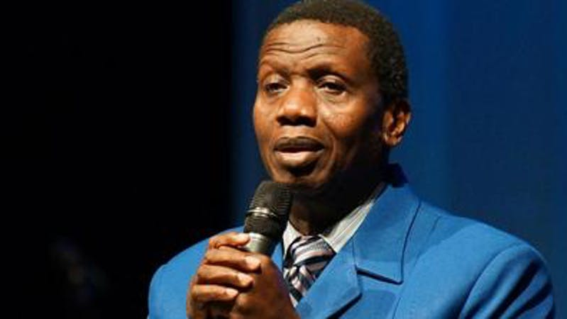 General Overseer, Redeemed Christian Church of God (RCCG), Pastor E.A. Adebayo is the latest figure to join the EndSARS protest