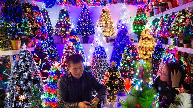 Business in Yiwu, China's Christmas toy production hub threatened by COVID-19