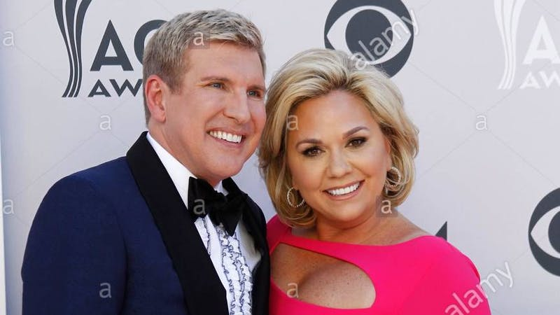 Realty TV star Toddy Chrisley and his wife