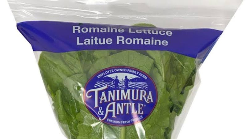 Romaine lettuce sold by walmart recalled for E. coli