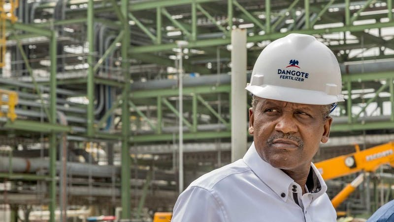 """Dangote Group has emerged the Most Valuable Brand in Nigeria for the third consecutive year. This is the outcome of the 2020 edition of the Annual Brand Evaluation, """"TOP 50 BRANDS NIGERIA, reveals."""