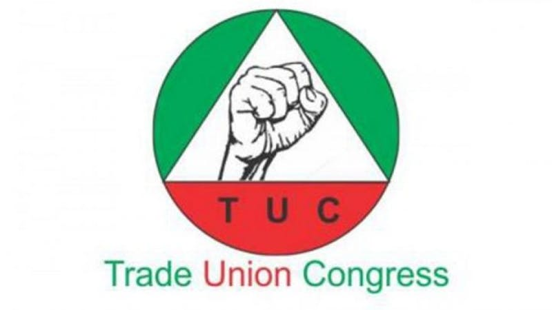 The logo of Trade Union Congress (TUC)