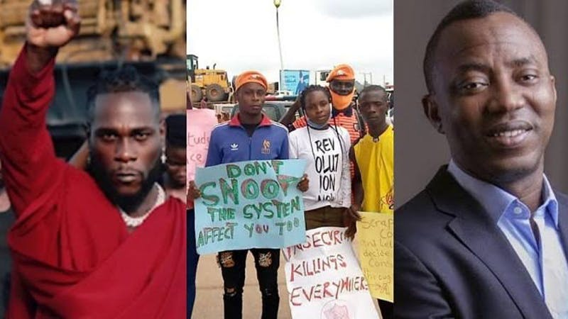 Sowore invites Burna Boy to join in revolutionary protest