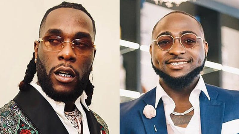 Davido and Burna Boy reportedly clash in Ghananian Club