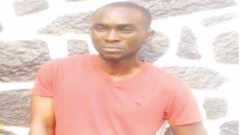 John Osagie Otema, a former Unilag student who was sentenced to 50years imprisonment for rape