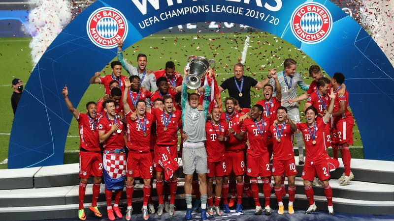 Bayern Munich has been crowned the European champions after beating PSG 1-0