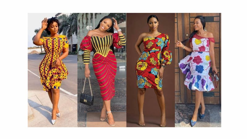 Different styles of Ankara collcetion