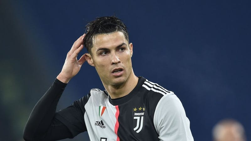 Juventus striker Cristiano Ronaldo in action for the club