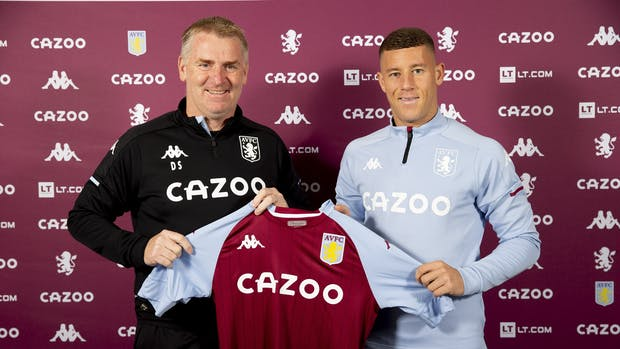 Aston Villa has signed Ross Barkley on a season