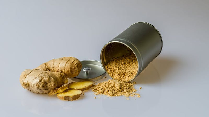 Ginger has many health benefits one of which is to help you maintain a normal body weight