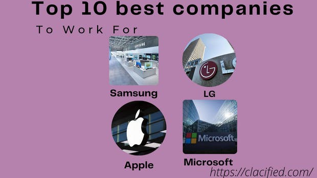Top 10 best companies to work for in the world