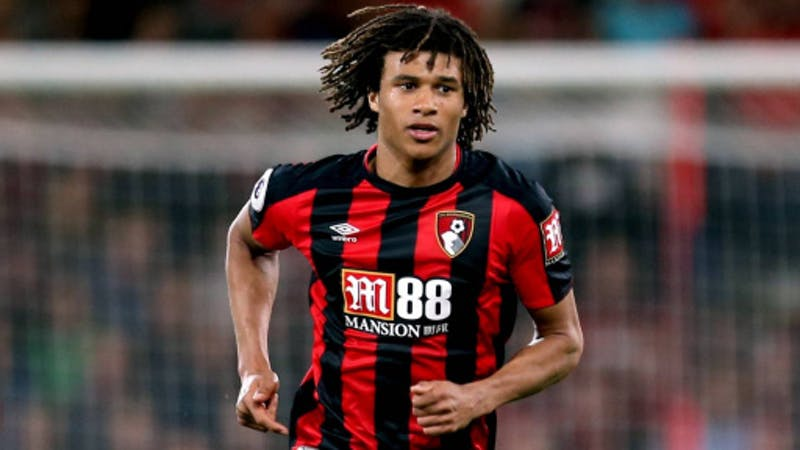 Bournemouth defender Nathan Ake in action for the  club