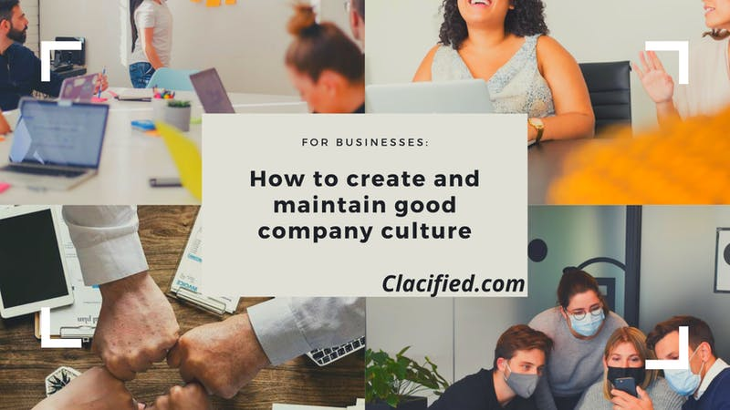 How to create and maintain good company culture