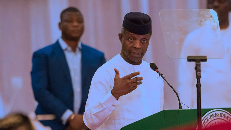 Vice President of Nigeria Yemi Osibanjo has called for tax reformation around the world to fight against illicit financial flow