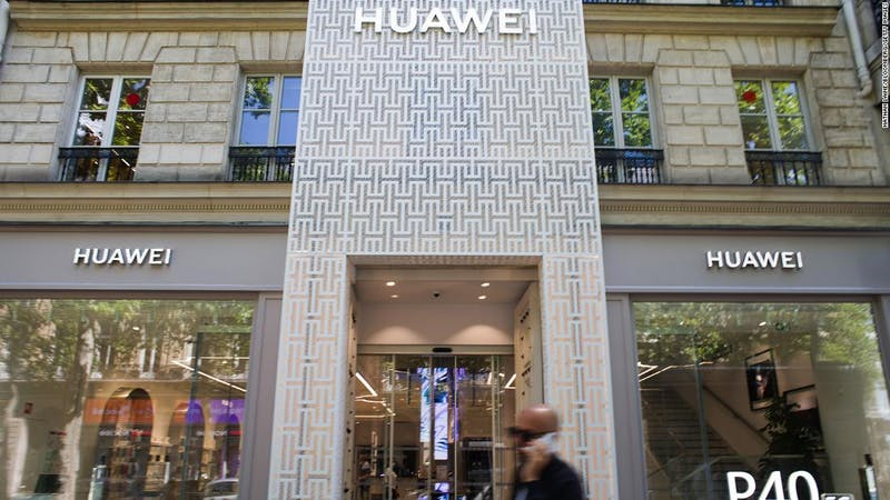 Huawei, Chinese-based tech company