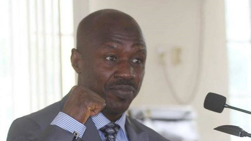 EFCC chairman Ibrahim Magu speaks about his arrest