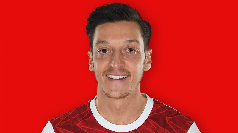 Mesut Ozil has been left out of Arsenal's 25-man Premier League squad