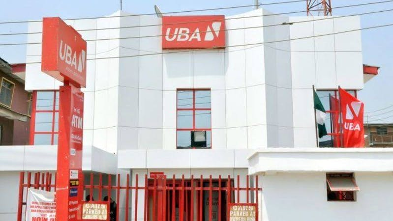 The building complex of a United Bank for Africa Plc