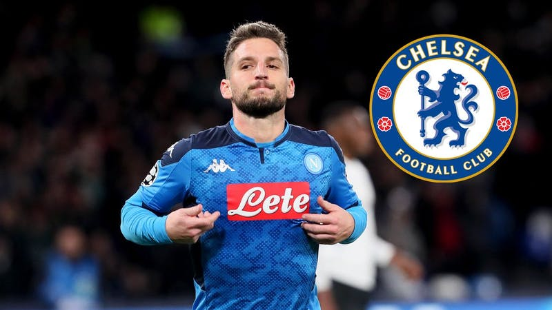 Napoli Dries Mertens in Chelsea transfer plan