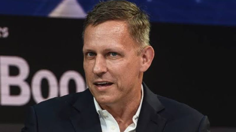 Peter Thiel, co-founder of PayPal and CIA-backed big data startup, Palantir
