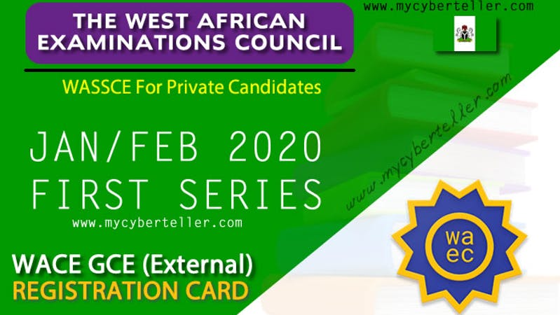 WAEC has released its 2020 GCE timetable