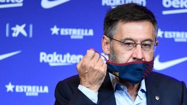 Josep Maria Bartomeu has resigned as Barcelona's president