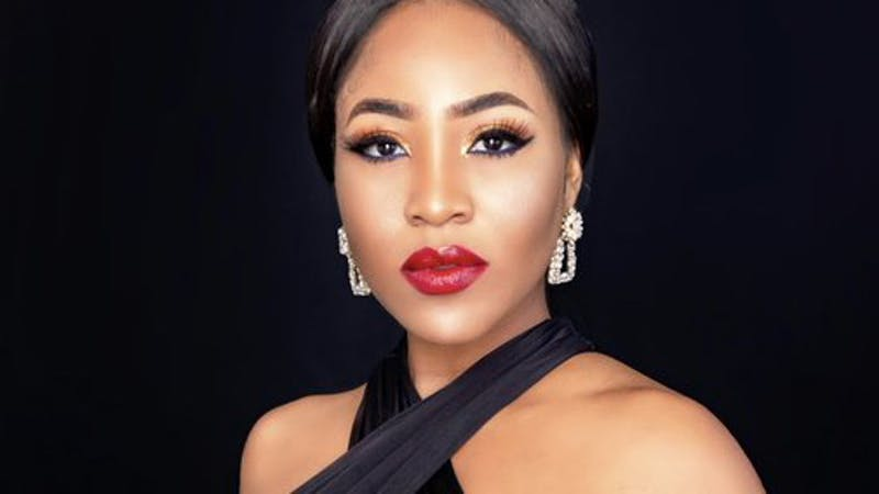 Former BBNaija Housemate, Erica, She was disqualified following misconduct.