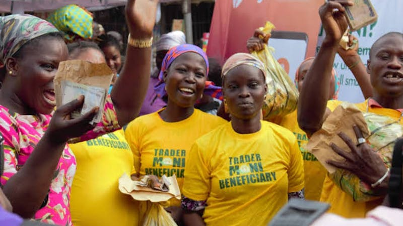 TraderMoni is a Nigeria youth empowerment program that targets entrepreneurs and assist them by offering them interest-free loans