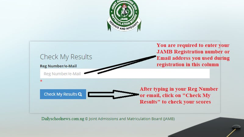 Jamb 2020 e-facility result checking portal, a step by step guide