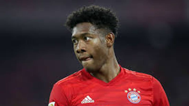 Real Madrid are currently in talks with David Alaba's agent over a possible transfer