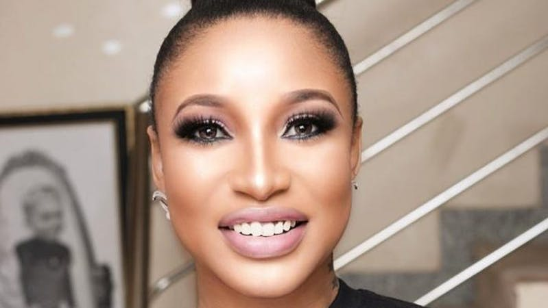 Nollywood actress and  Director, Social & Empowerment of Committee of Youth on Mobilization and Sensitization (CYMS), Tonto Dikeh.