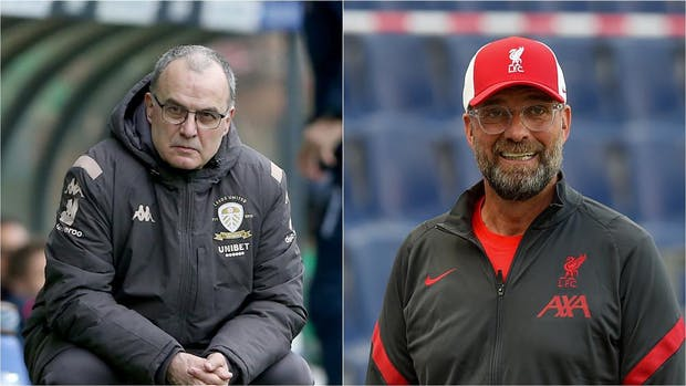 Marcelo Bielsa and Jurgen Klopp has been shortlisted for the FIFA men's coach of the year