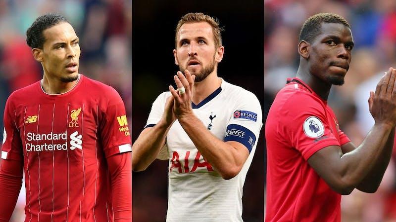 List top ten richest Premier League players