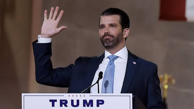 Donald Trump Jr tests positive for COVID-19, currently quarantined in the White House
