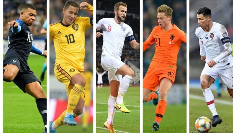 Complete euro 2020 squad list