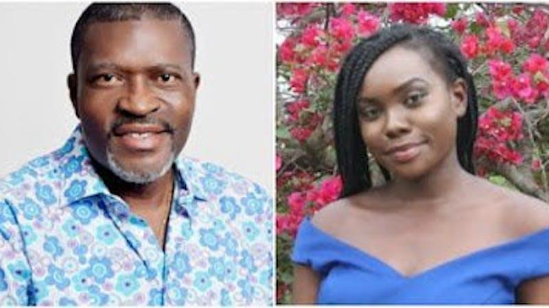 Nollywood actor, Kanayo O. Kanayo celebrates his daughter, Valerie, Uloaku Omyekwere who recently graduated from Babcock University