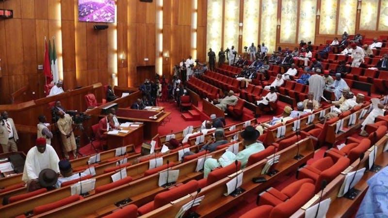 The Senate in a plenary session
