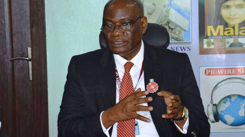 The Vice-Chancellor of UNILAG, Oluwatoyin Ogundipe who was sacked by the Governing Council of the University