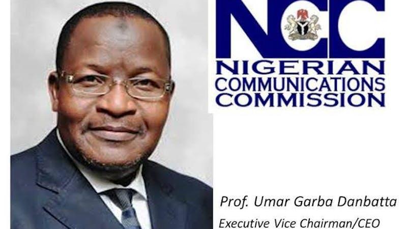 Prof Umar Danbatta, the Executive Vice Chairman/CEO Nigerian Communications Service
