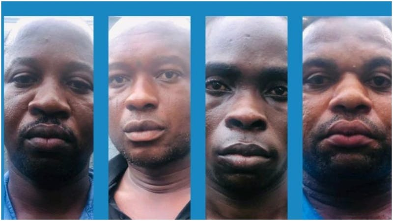Faces of robbers that attacked Bullion Van in Ebonyi state